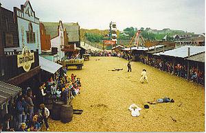 The American Adventure Theme Park - American Adventure in 1991