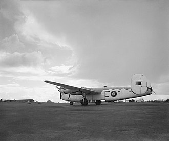 Hartley Wintney - A Consolidated B-24 Liberator GR.VI of No. 200 Squadron RAF. This is the same version of B-24 as the one from 311 Squadron that crashed at Elvetham.
