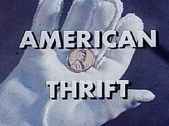 Cirrus (song) - The music video manipulates footage from the 1962 film, American Thrift (opening title pictured).