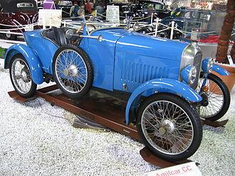Amilcar - 1921 Amilcar CC racecar.