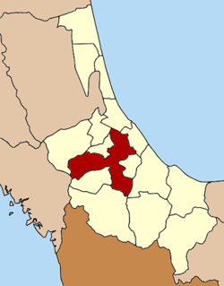 Amphoe location in Songkhla Province