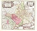 Amplissima Ucraniae Regio Palatinatus Kioviensem et Braclaviensem, Matthaus Seutter (Augsburg, 1742).jpg