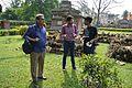 Amrit Gangar With Sukanta Pal And Bodhisattwa Mandal - Dutch Cemetery - Chinsurah - Hooghly 2017-05-14 8365.JPG