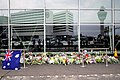 Amsterdam Airport Flight MH17 Memorial July 20th, 2014.jpg