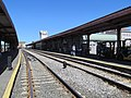 Amtrak platforms at Springfield Union Station, May 2013.JPG
