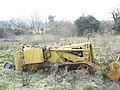 An abandoned bulldozer in a field rapidly reverting back to scrubland - geograph.org.uk - 413825.jpg