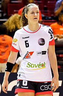 Ana Gros Slovenian handball player
