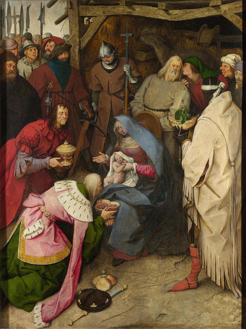 Anbetung der Könige (Bruegel, 1564) – cropped.jpg; Art Advent Calendar
