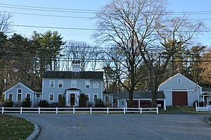 Dascomb House - Image: Andover MA Dascomb House