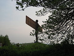 Angel of the north through trees.jpeg
