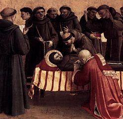 Prédelle des histoires de saint François