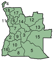 Angola Provinces numbered 300px