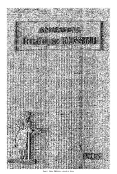 File:Annales de la société Jean-Jacques Rousseau, tome 1.djvu