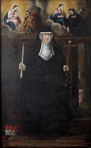 Anna Juliana Gonzaga - Anna Juliana Gonzaga as a Servite Sister