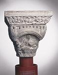 Anonyme toulousain - Chapiteau de colonne simple , La Cène - Musée des Augustins - ME 125 (4).jpg