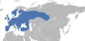 Anoplotrupes stercorosus distribution map.png