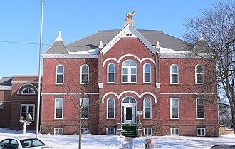 Antelope County, Nebraska - Image: Antelope County Courthouse (Nebraska) from W 2