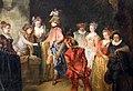 Antoine watteau, amanti in un teatro francese, 1715-17 ca. (gemäldegalerie berlino) 02.jpg