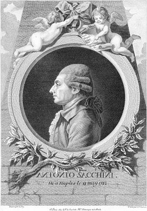 Sacchini, Antonio (1730-1786)