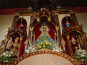Our Lady of Salambao - Image: Aobandochurch 2jf 1