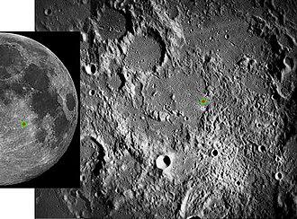 Apollo 16 - Location of the Apollo 16 landing site