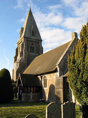Appleford-on-Thames - Image: Appleford Church
