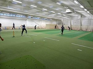 Cricket nets - Indoor cricket nets