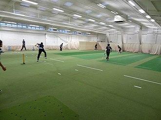 Cricket nets - Indoor cricket nets