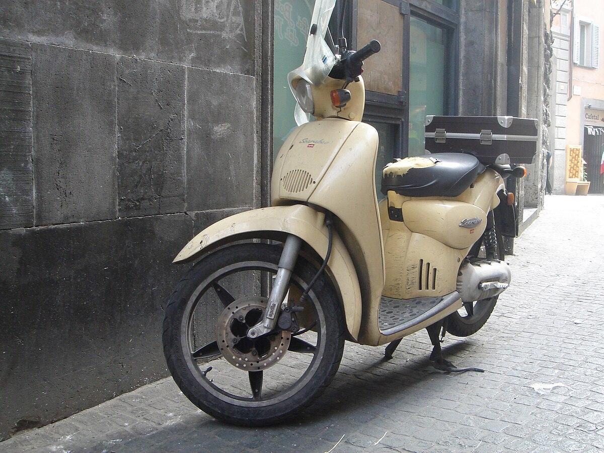 Aprilia Cc Scooter