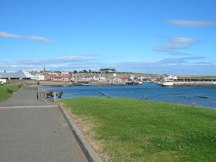 Arbroath from the south