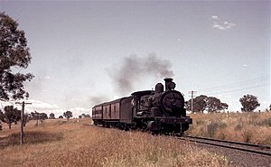 New South Wales D50 class locomotive