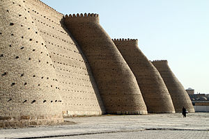 Ark fortress in Bukhara