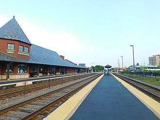 Arlington Heights station - Image: Arlington Heights Station