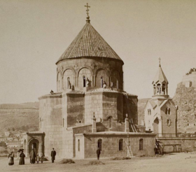 Armenian Cathedral of Kars at the end of the 19th century