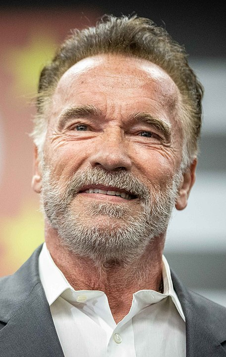 Arnold Schwarzenegger shoots a spy series for Netflix