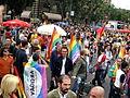 Arrivo al Gay Pride di Milano 2008 2 - Foto Giovanni Dall'Orto, 7-June-2008.jpg