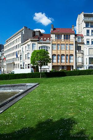 Hôtel van Eetvelde - Image: Art nouveau Brussel