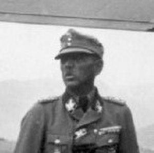 Artur Phleps - Phleps as an SS-Gruppenführer und Generalleutnant der Waffen-SS