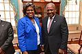 Assistant Secretary Thomas-Greenfield Poses for a Photo With Ghana's President Dramani Mahama.jpg
