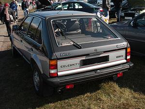 Vauxhall Astra - Vauxhall Astra 1300 Celebrity hatchback