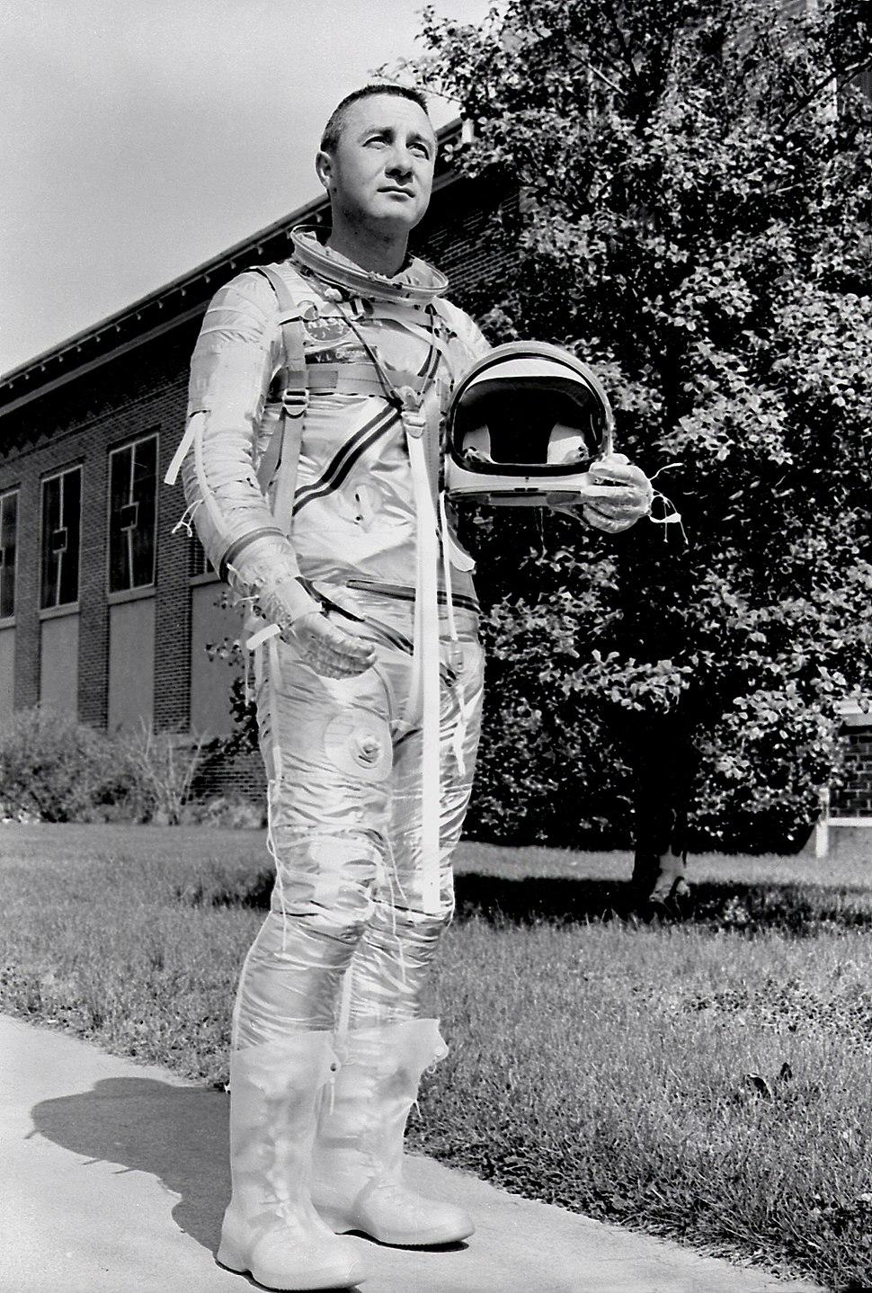 Astronaut Virgil I. Grissom MSFC-8772558
