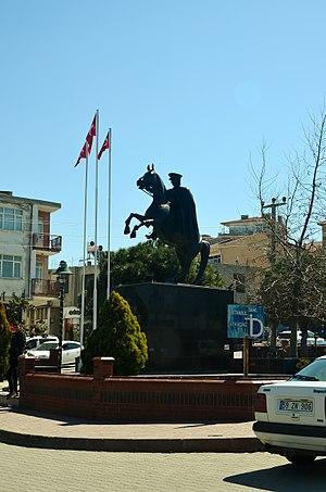 Marmara Ereğlisi - Statue of Mustafa Kemal Atatürk in Marmara Ereğlisi.