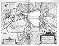 Atlas Beudeker-C9E10 010 03B-NOVELLE CARTE representant la Ville de BOLDVC en plan avec ses Remparts, Fossez, Forteresses dalentour etc. Ensemble LES APPROCHES de chaq....jpg