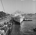 Atoom koopvaardijschip Savannah in Rotterdam, aankomst Parkkade, Bestanddeelnr 916-9500.jpg