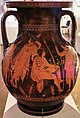 Attic red-figure pelike with a Gigantomachy and youths. SIDE B. About 400 B.C.jpg