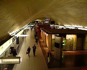 Auber Station - Image: Auber RER Paris 2005 Hall 2