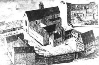 St. Augustine's Monastery (Erfurt) - Augustinian Monastery, Erfurt in the 16th century