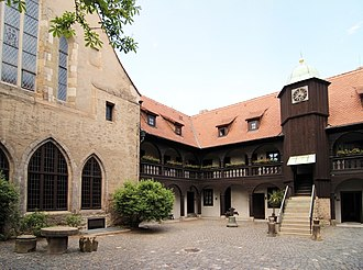 Martin Luther - Former monks' dormitory, St Augustine's Monastery, Erfurt