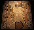 Australia, aborigeni, maggie napangardi watson, sogno della liana-serpente, deserto centrale, 1990-91, 02.JPG