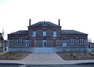 Authon-la-Plaine - The town hall of Authon-la-Plaine